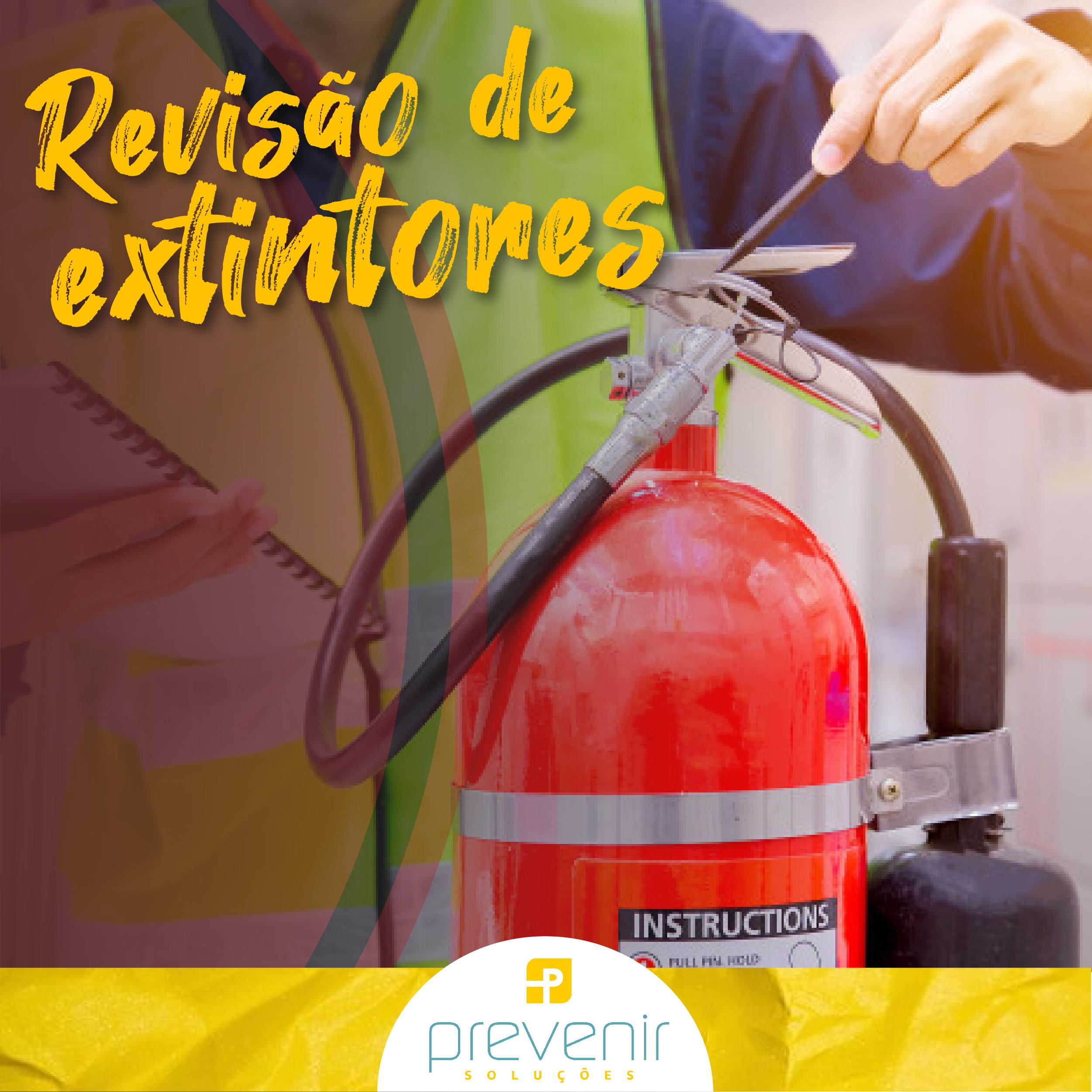 Revisão dos Extintores