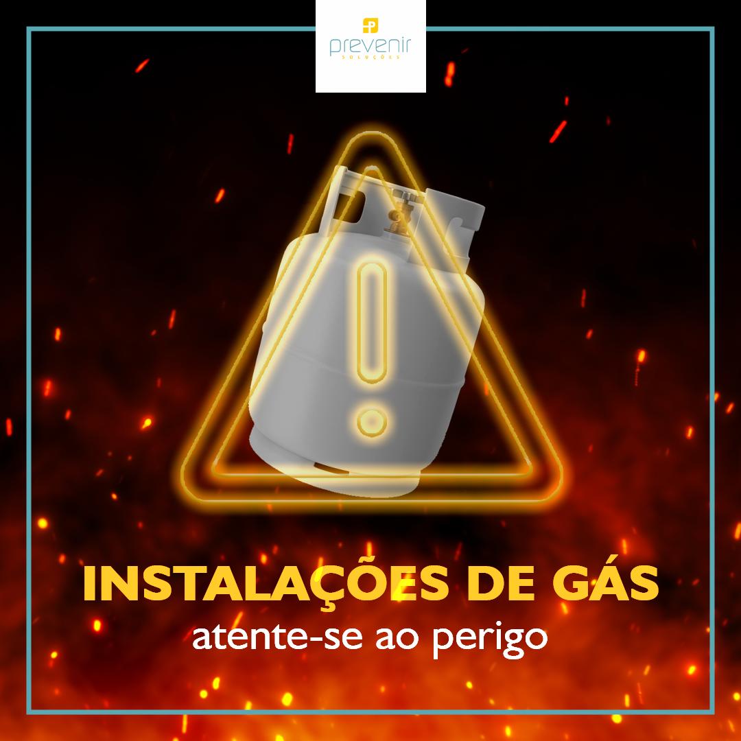 Instalações de gás | Atente-se ao perigo
