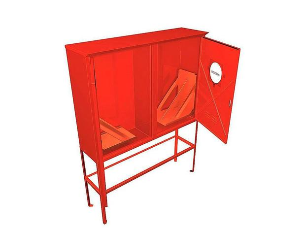 Abrigo - Hidrantes (Chapa Vermelho)