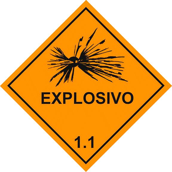 Sinalização: Placa para Transporte de Produtos Perigosos