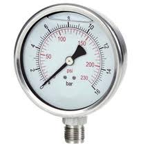 Hidrante - Manômetro