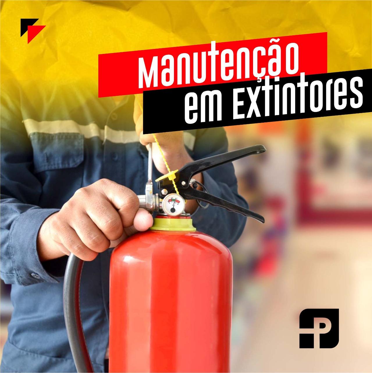 Manutenção em Extintores