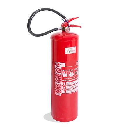 Extintor de Incêndio - ABC 06 KG (PORTÁTIL) 3-A:40-B:C ou 4-A:40-B:C