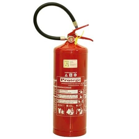 Extintor de Incêndio - ABC 08 KG (PORTÁTIL) 4-A:40-B:C