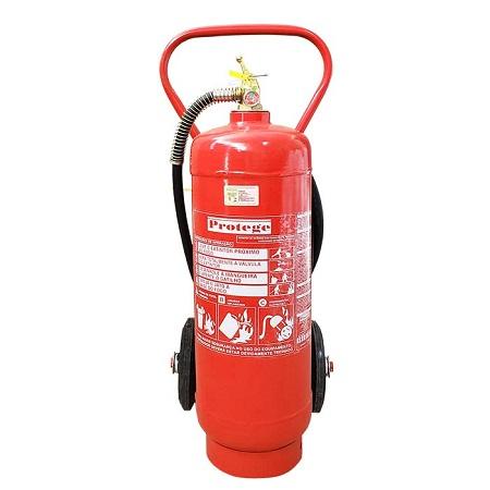 Extintor de Incêndio - ABC 30 KG (SOBRE RODAS) 10-A:80-B:C