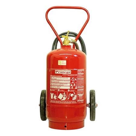 Extintor de Incêndio - ABC 50 KG (SOBRE RODAS) 10-A:80-B:C