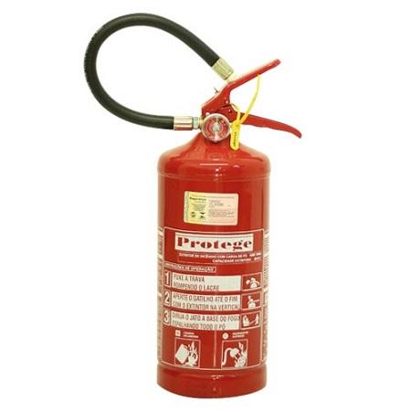 Extintor de Incêndio - BC 04 KG (PORTÁTIL) 20-B:C
