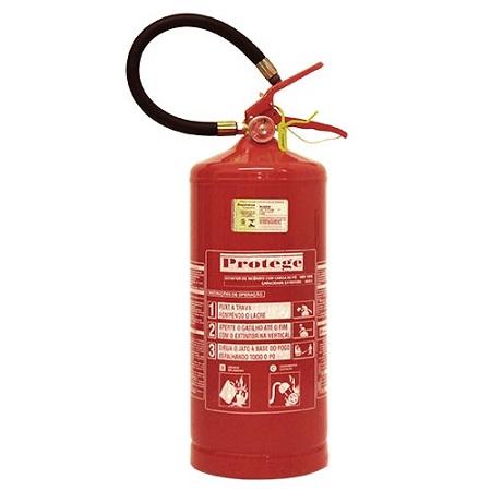 Extintor de Incêndio - BC 08 KG (PORTÁTIL) 40-B:C