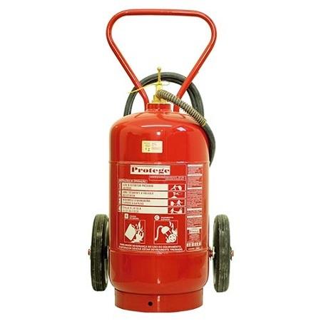 Extintor de Incêndio - BC 50 KG (SOBRE RODAS) 80-B:C