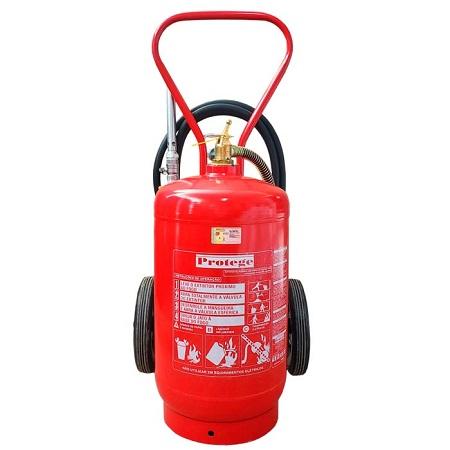 Extintor de Incêndio - Espuma Mecânica AB 50 LT (SOBRE RODAS) 10-A:80-B