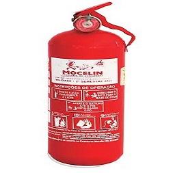 Extintor de Incêndio - ABC 02 KG (VEICULAR) 2-A:10-B:C