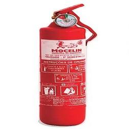 Extintor de Incêndio - ABC 01 KG (VEICULAR - UNIVERSAL) 1-A:5-B:C