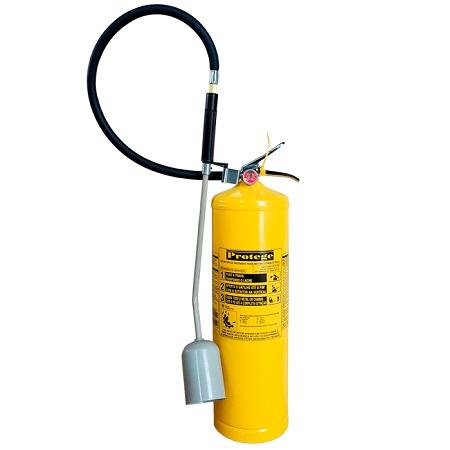 Extintor de Incêndio - CLASSE D 9 KG (PORTÁTIL)