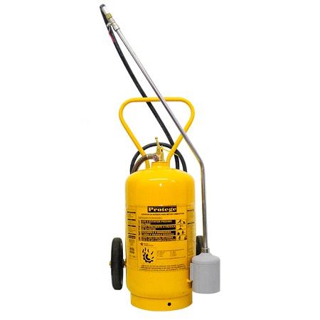 Extintor de Incêndio - CLASSE D 50 KG (SOBRE RODAS)
