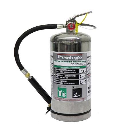Extintor de Incêndio - CLASSE K 6 LT (PORTÁTIL)
